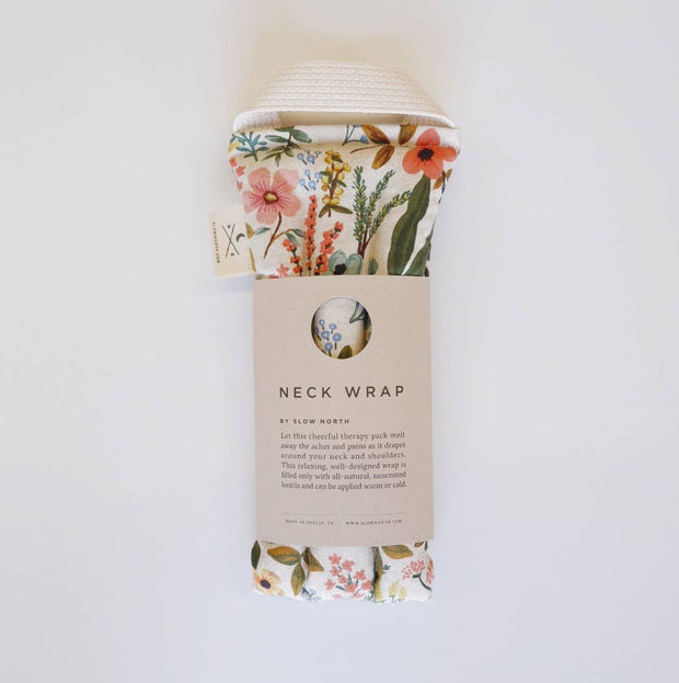 Slow North Neck Wrap Therapy Pack - Wildflower
