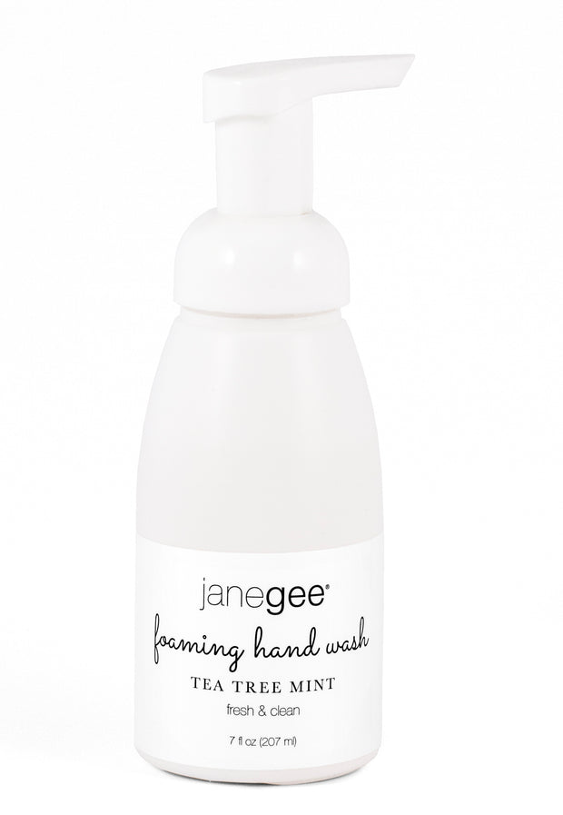 janegee Tea Tree Mint Aromatherapy Foaming Handwash
