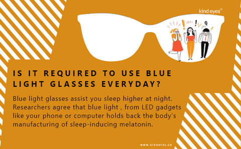 importance of wearing blue light glasses