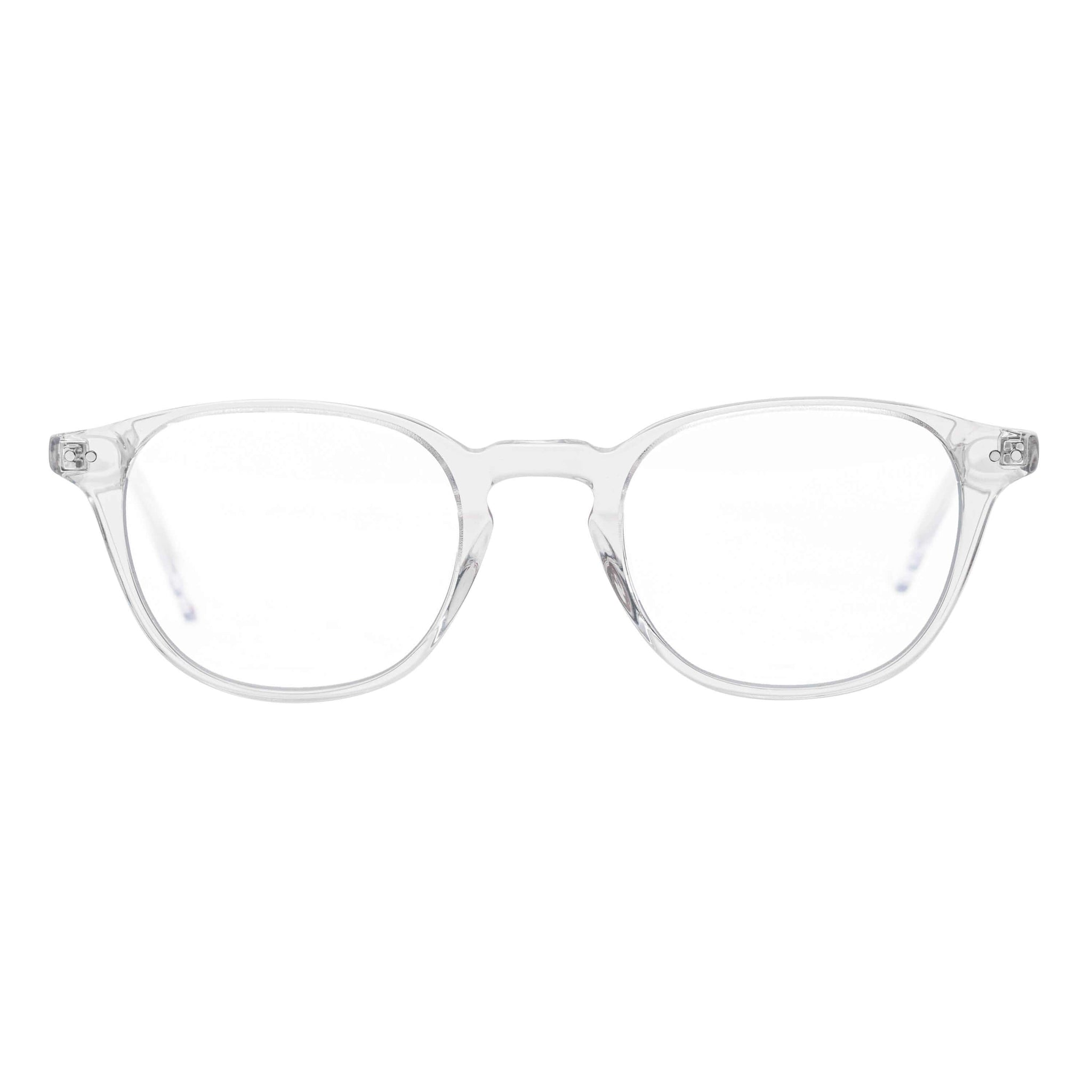 Clear blue ray glasses