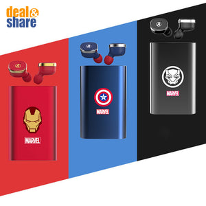 [NEW] Marvel TWS Wireless Bluetooth Earphone Mini In-Ear - Deal&Share South Africa Online Shopping Store