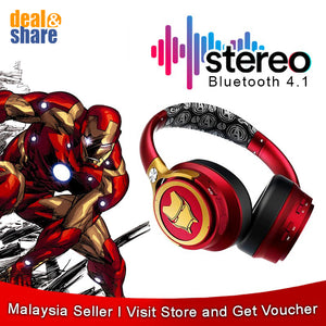 [NEW] Marvel Wireless Bluetooth Headset - Deal&Share South Africa Online Shopping Store