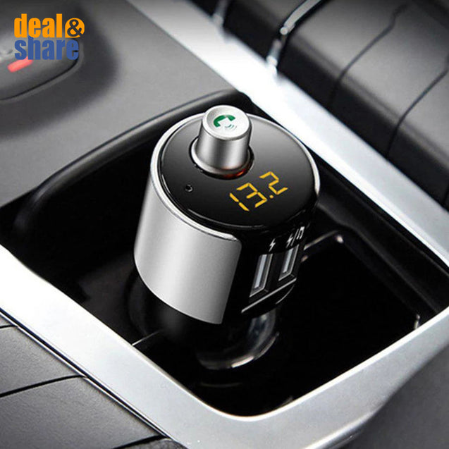 Multi-Function Bluetooth Car FM Transmitter - Deal&Share South Africa Online Shopping Store