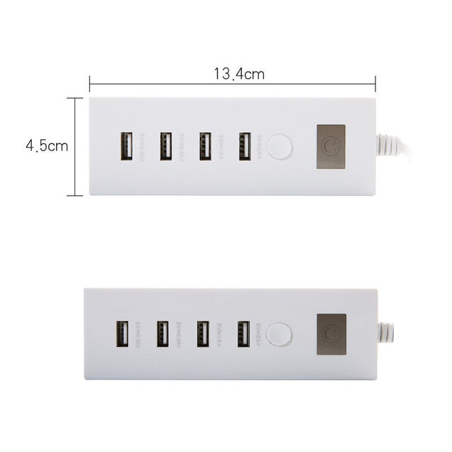 5V 2A Quick Travel Charger 4 Port Smart USB Charging Port Power Hub Universal Fast Charger - Deal&Share South Africa Online Shopping Store