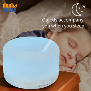 Ultrasonic Air Humidifier Aroma Essential Oil Diffuser - Deal&Share South Africa Online Shopping Store