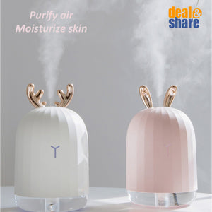 220ML Ultrasonic Air Humidifier Aroma Essential Oil Diffuser - Deal&Share South Africa Online Shopping Store