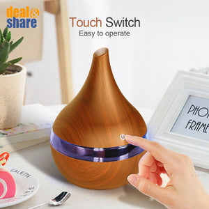 USB Electric Aroma air diffuser wood air humidifier - Deal&Share South Africa Online Shopping Store