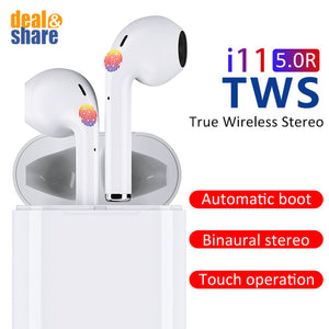 i11 TWS Wireless Bluetooth Earphone - Deal&Share South Africa Online Shopping Store