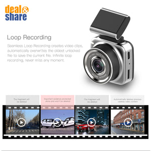 "Mini 2"" Touch Screen Car DVR Camera - Deal&Share South Africa Online Shopping Store"