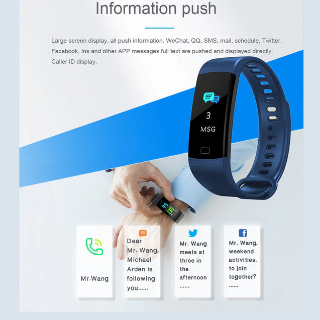 115 Plus Smart Bracelet SmartWatch - Deal&Share South Africa Online Shopping Store