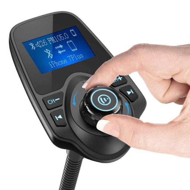 T10 Hands-Free Bluetooth FM Transmitter for Car - Deal&Share South Africa Online Shopping Store