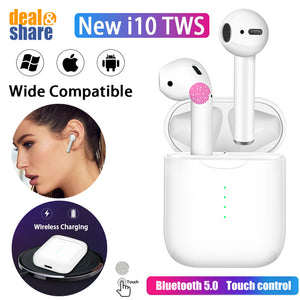 i10 TWS Wireless Bluetooth Earphone - Deal&Share South Africa Online Shopping Store