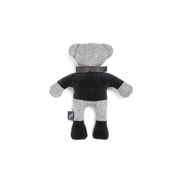 Marble Teddy Dog Toy Light Grey-Grey