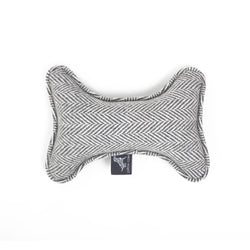 Marble Bone Dog Toy Light Grey-Grey