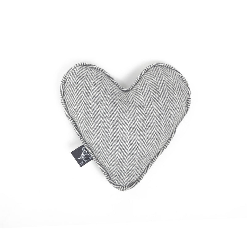 Marble Heart Dog Toy Light Grey-Grey