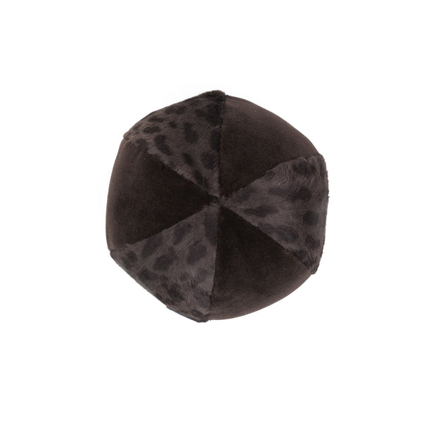Chocolate Ball Dog Toy Dark Brown