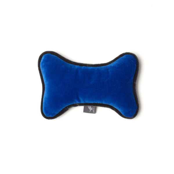Monogramm Bone Dog Toy Grey-Blue