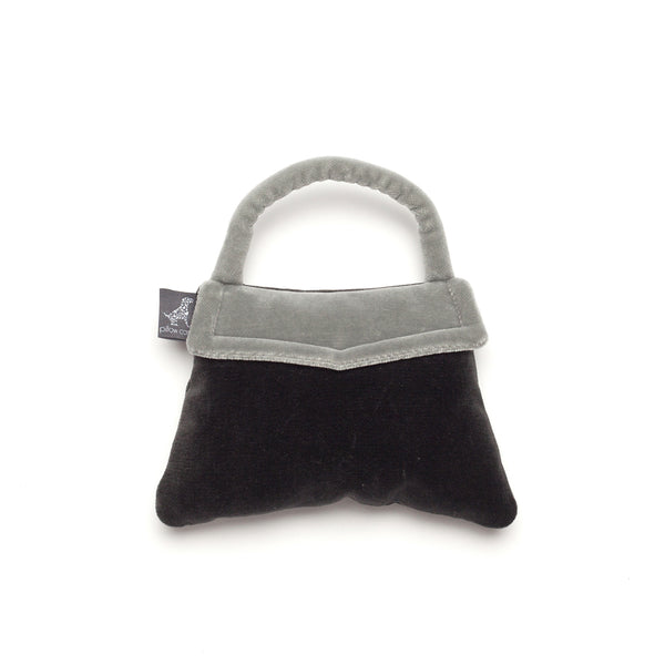 Monogramm Handbag Dog Toy Grey-Silver Grey