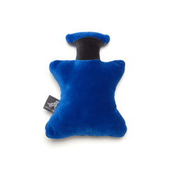 Monogramm Perfume Dog Toy Grey-Blue