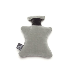 Monogramm Perfume Dog Toy Grey-Silver Grey