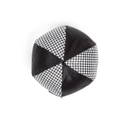 Moon Ball Dog Toy Black-White