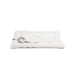 Caramel Medium Dog Travel Bed Beige-Offwhite