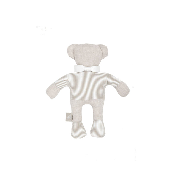 Caramel Teddy Dog Toy Beige-Offwhite