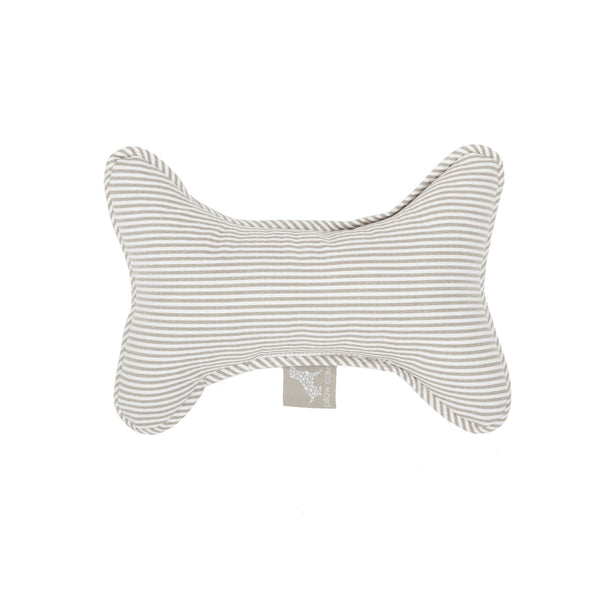 Caramel Bone Dog Toy Beige-Offwhite
