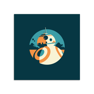 Star Wars BB8 Print