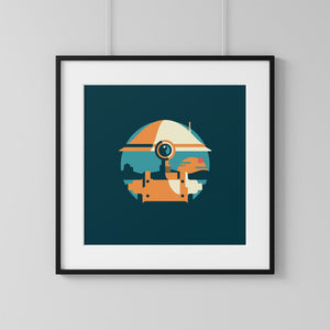 Star Wars Pit Droid Print