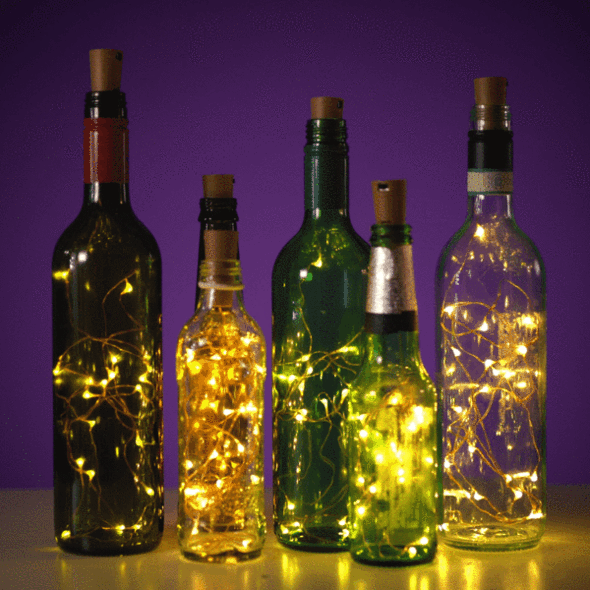 (Hot Selling 55,00 PCs )BOTTLE LIGHTS-75% OFF!