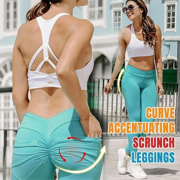 Hip Lifting Curve Accentuating Scrunch Leggings