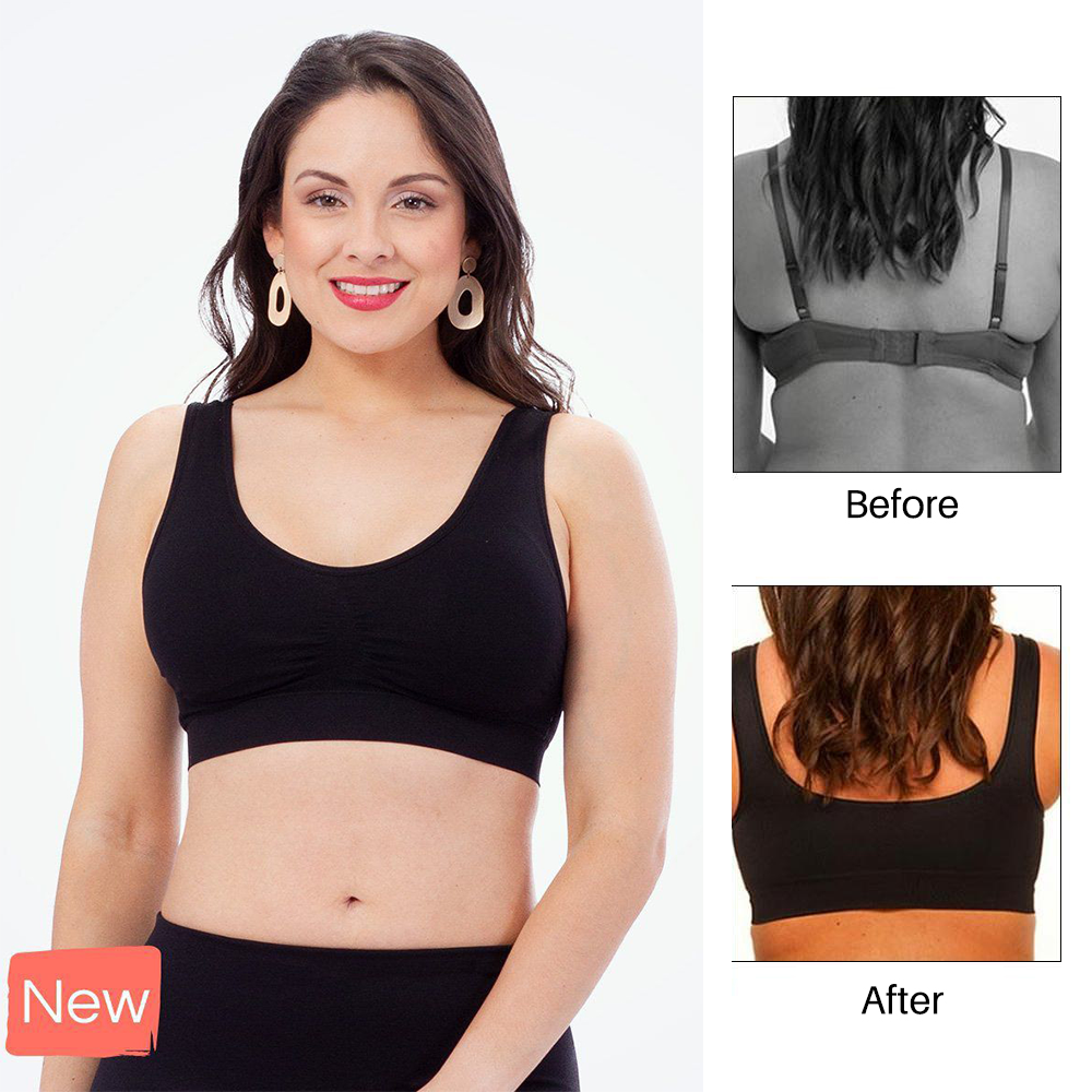 Wirefree Bra (1 Set of 4) - Allurstyle