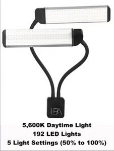 LBA GLAMDUO beauty lighting eyelash extension lamp