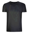 Rainbow Unicorn Silhouette Organic Cotton T-Shirt