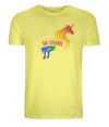 No shame Rainbow Unicorn Organic Cotton T-Shirt
