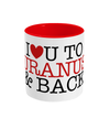 Uranus & Back Two Toned Mug