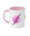 Pink Flash Two Toned Mug