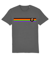 Inclusive Rainbow Stripe Organic Cotton T-shirt