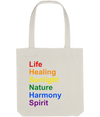 Rainbow Colours Tote Bag