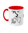 The Kiss Two Toned Mug