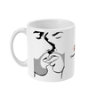 The Kiss Minimalist 11oz Mug