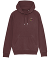 Burgundy Simple Unapologaytic Logo Gay Sweatshirt