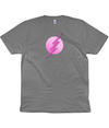 Grey & Pink Superhero Organic Cotton T-Shirt