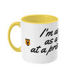 Golden Girls Jumpy Virgin Quote Two Toned Mug