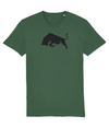 Bottle Green Bull Organic Cotton T-Shirt