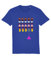Gay Space Invaders Organic Cotton T-Shirt