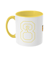 Team 8 Two Toned Mug