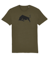 British Khaki Bull Organic Cotton T-Shirt
