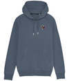 Light blue Simple Unapologaytic Logo Gay Sweatshirt